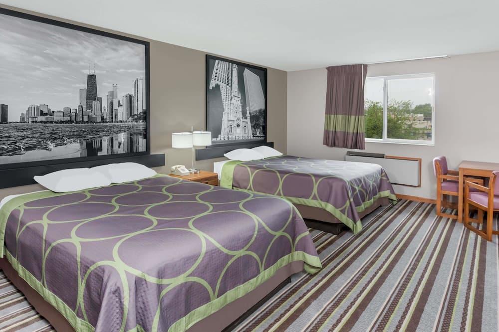 חדר, 2 מיטות קווין, נגישות לנכים, ללא עישון (Mobility Accessible) - חדר אורחים