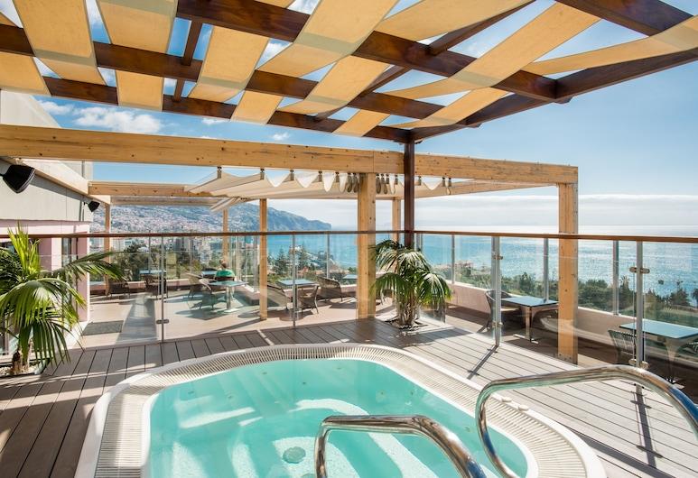 馬德拉植物園圖伊布魯飯店, 芳夏爾, 室外 Spa 池
