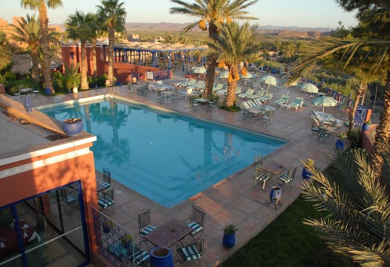 Kenzi Azghor, Ouarzazate, Premium tuba, Vaade mägedele