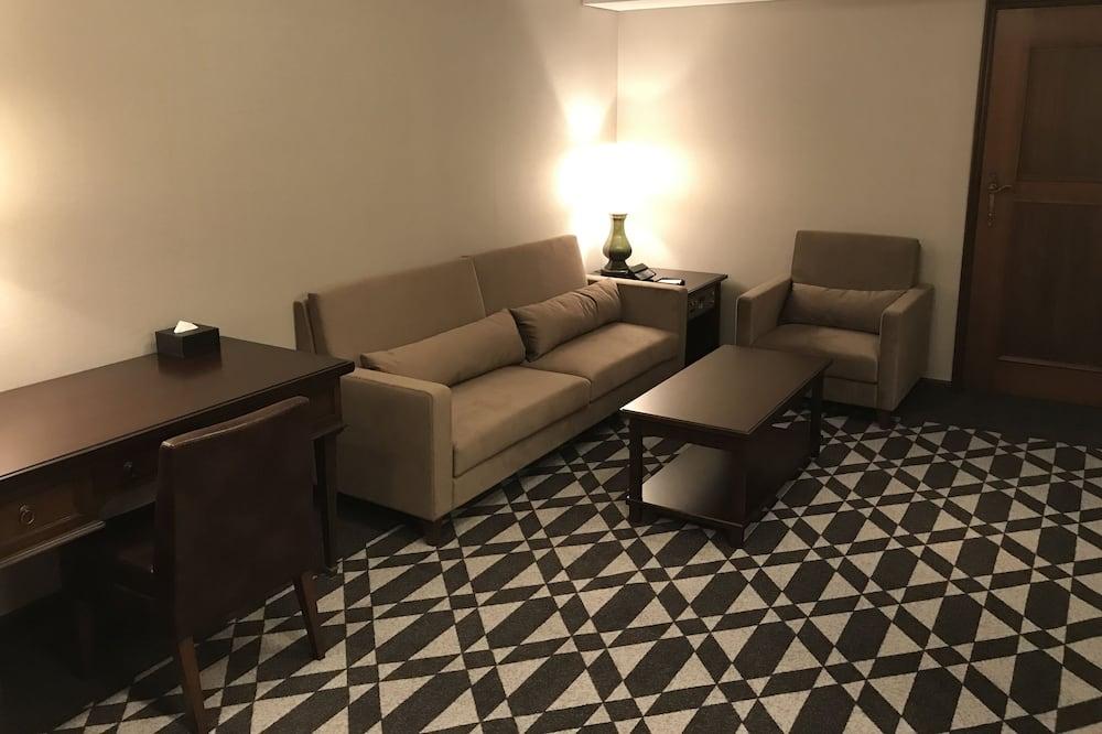 Suite, no fumadores (Residence, Twin, 5F) - Zona de estar