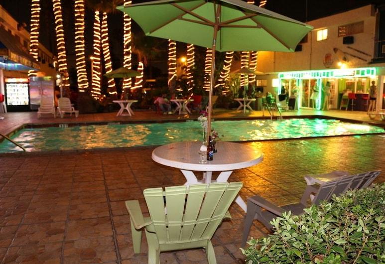Adventurer Hotel Los Angeles LAX, Inglewood, Vonkajší bazén