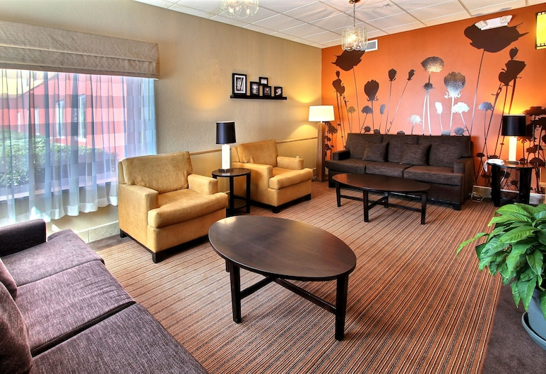 Sleep Inn and Suites - Ocala / Belleview, Окала, Вестибюль