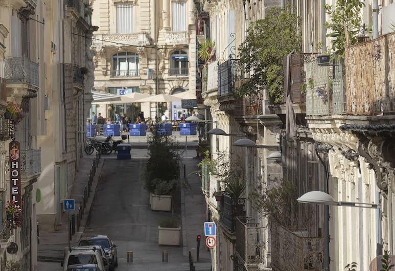 Hôtel d'Aragon, Montpellier, Chambre Double Luxe, Vue sur la ville