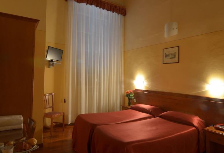호텔 지오토, 피렌체, 스탠다드 더블룸 또는 트윈룸, 객실