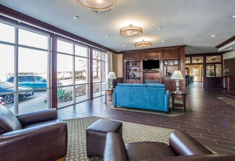 Comfort Suites Columbia - University Area, Columbia, Sitteområde i lobbyen