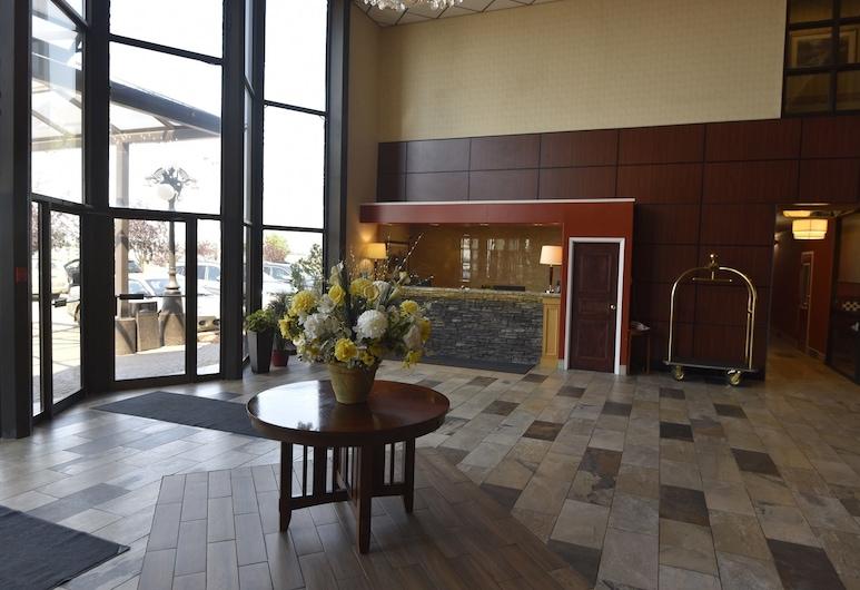 Tropical Inn, North Battleford, Interior Entrance