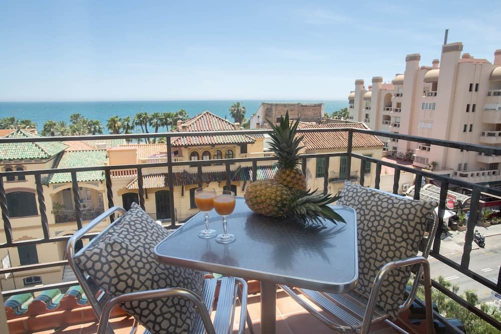 Dobbelt- eller tomannsrom, balkong - Terrasse/veranda