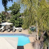 Executive-dobbeltværelse - 1 kingsize-seng - Udendørs pool