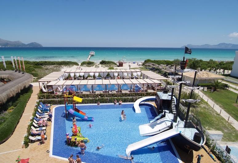 사피로 바이아 아파트호텔, 뮤로, 어린이 수영장