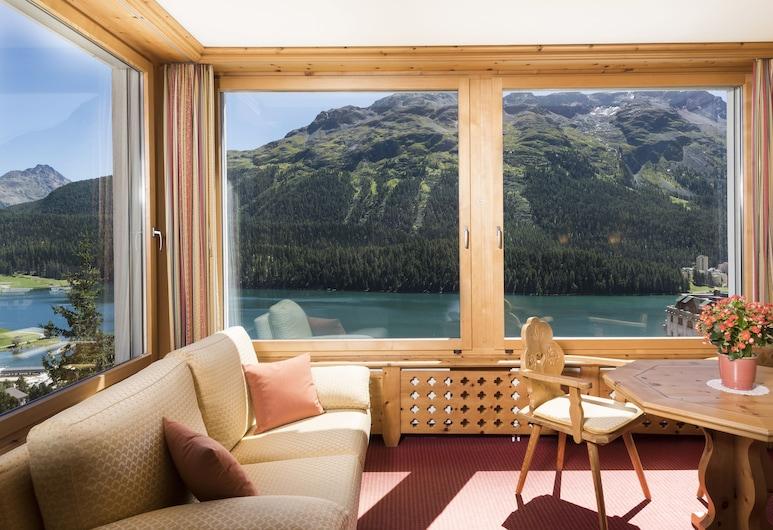 Languard, St. Moritz, Junior Suite, 1 Double Bed, Guest Room