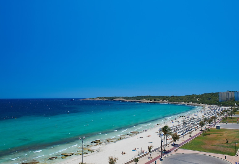Hipotels Flamenco, Sant Llorenc des Cardassar, Beach