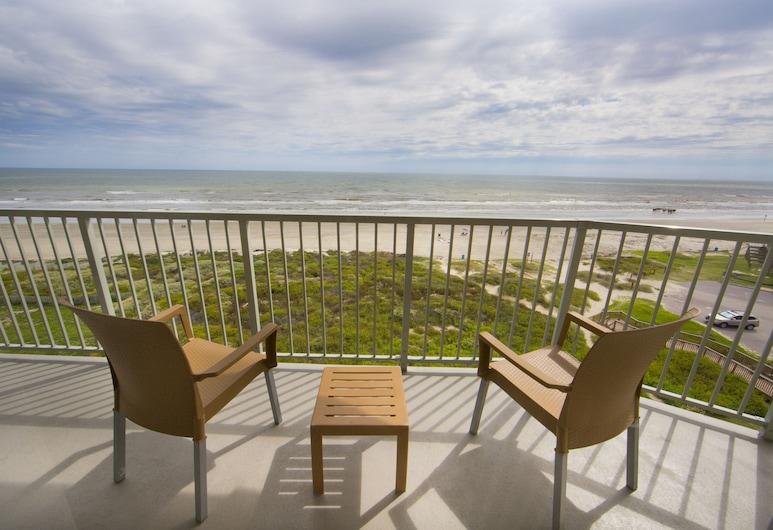 Holiday Inn Club Vacations Galveston Beach Resort, Galveston, Villa, 2 habitaciones, para no fumadores (1 King Bed & 1 Queen Bed), Vista a la playa o el mar