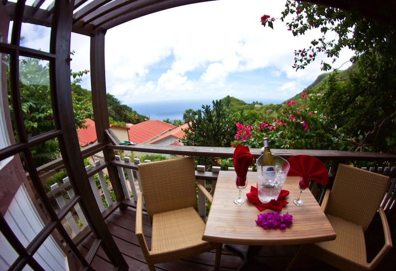 Scout's Place Hotel, Windward Side, Cottage, Balcony