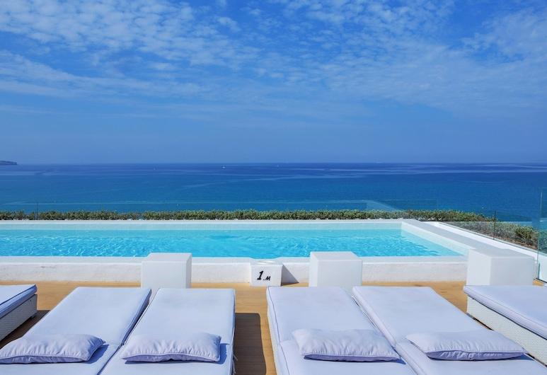 HM Tropical Hotel, Playa de Palma, Katusebassein