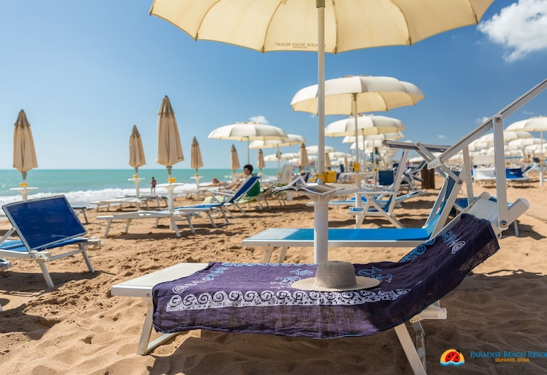 Paradise Beach Resort, Castelvetrano, Strand