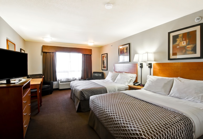Canalta Provost, Provost, Standard Room, 2 Queen Beds (Non-smoking Two Queen Beds), Guest Room