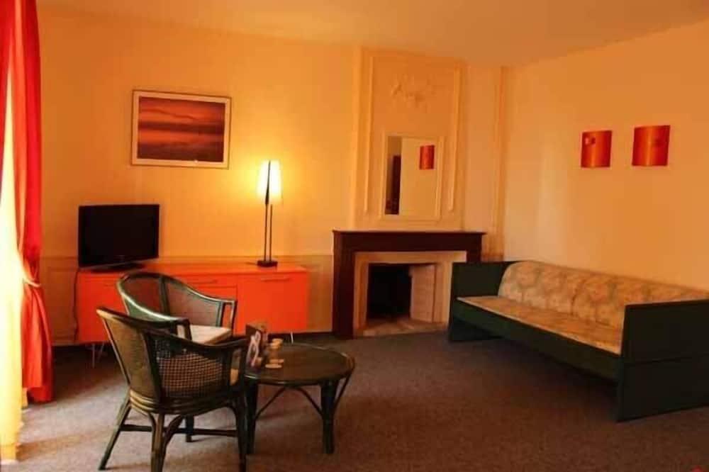 Suite Junior, vista lago - Area soggiorno