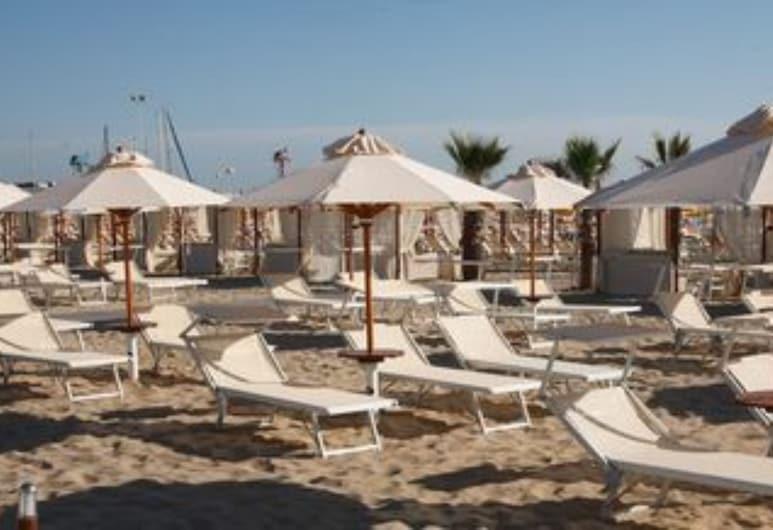 Hotel Lungomare , Riccione, Spiaggia