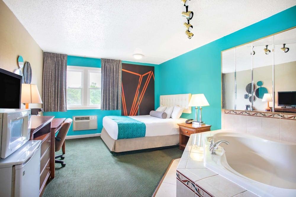 客房, 1 張加大雙人床, 非吸煙房, 熱水浴缸 - 客房