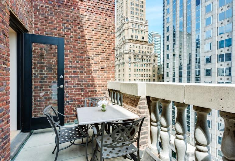 Renaissance New York Hotel 57, New York, Rom, 1 queensize-seng, terrasse, Gjesterom