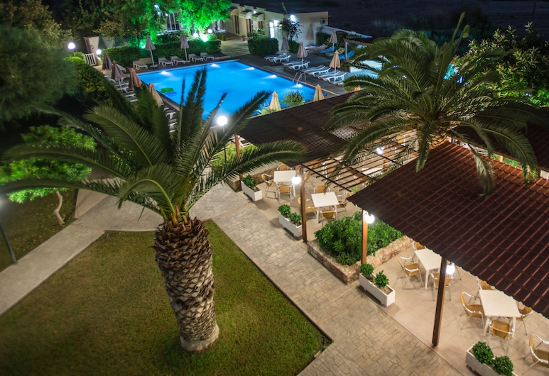 Meliton Hotel, Rhodes, Property Grounds