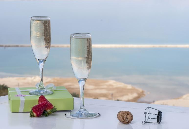 David Dead Sea Resort & Spa, Tamar, Premium-Doppelzimmer, Meerblick, Ausblick vom Zimmer