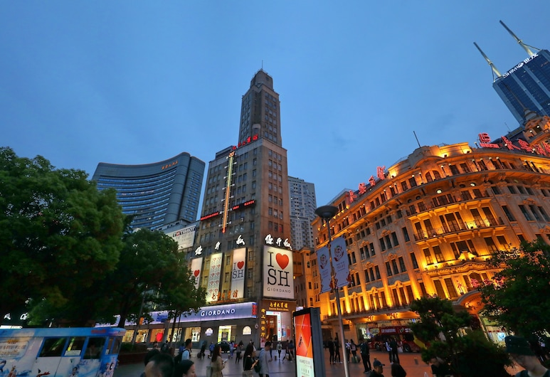 Seventh Heaven Hotel, Shanghai, Hotel Front – Evening/Night