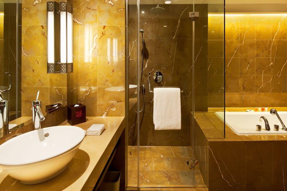 高級套房 - 浴室
