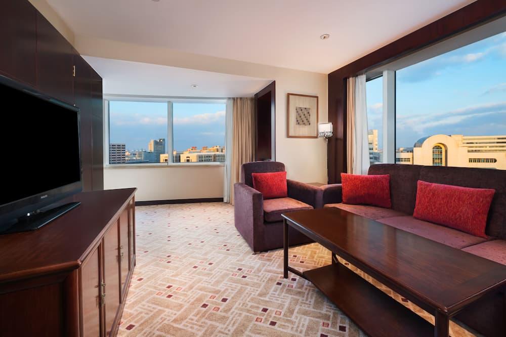 開放式套房, 1 張特大雙人床, 非吸煙房 - 客房
