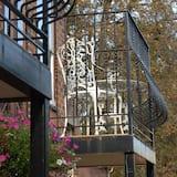 Egyágyas szoba, 1 egyszemélyes ágy, udvari - Kilátás az udvarra