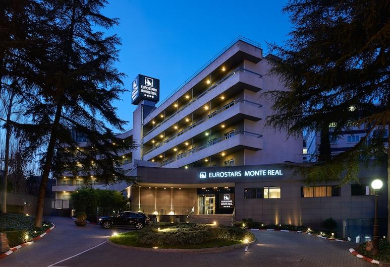 Hotel Eurostars Monte Real, Madrid, Otelin Önü