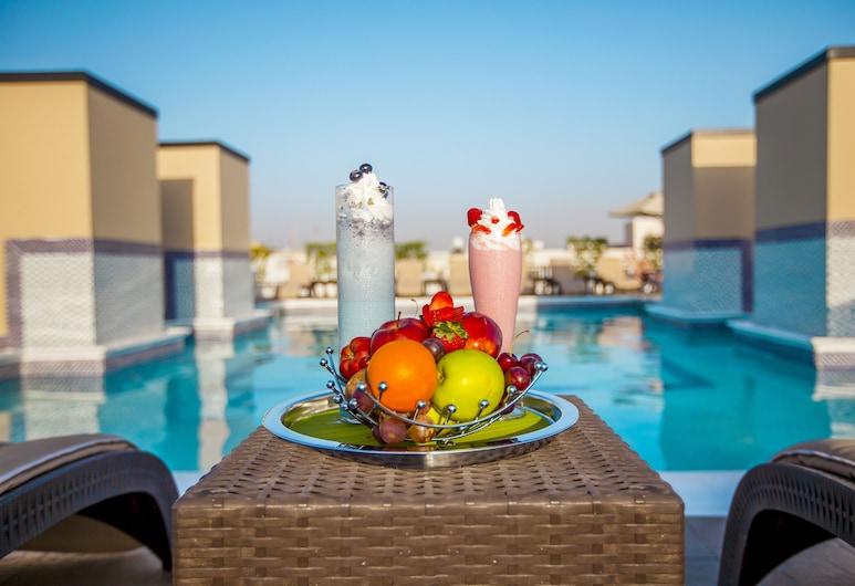 골든 샌즈 호텔 아파트먼트, 두바이, 야외 수영장