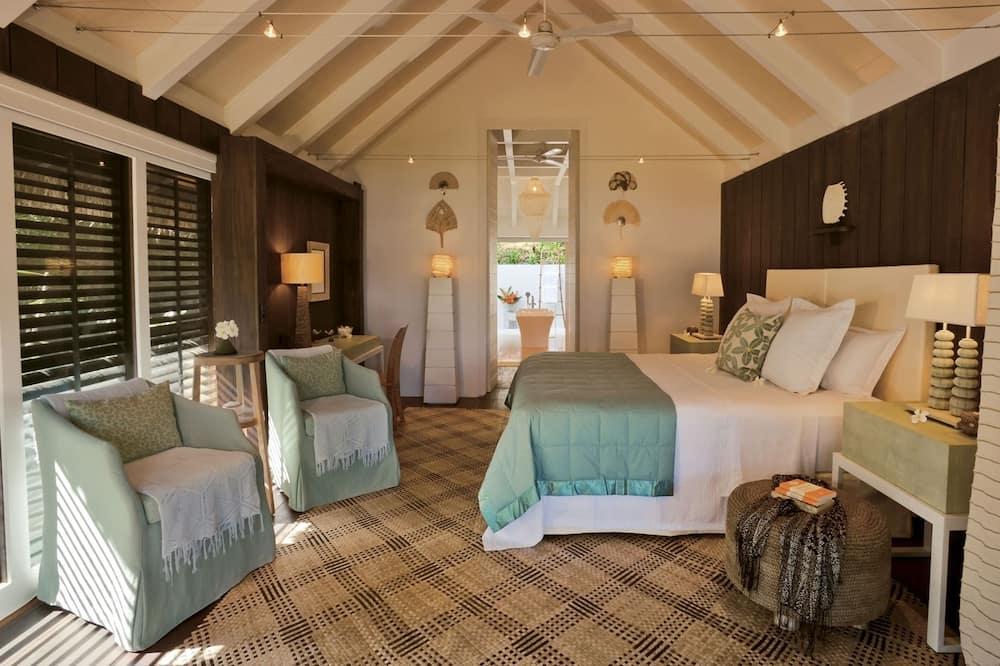 Luxury Bungalow, Ocean View (Bure suite) - Living Area