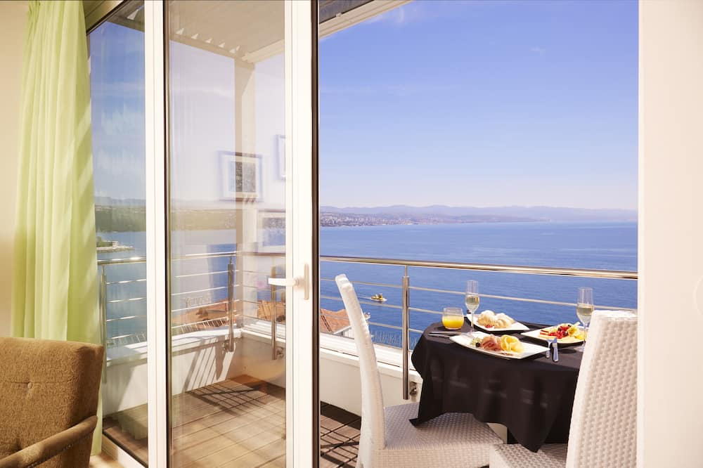 Panoramic-Suite, 1 Doppelbett, Terrasse, Meerblick - Strand-/Meerblick