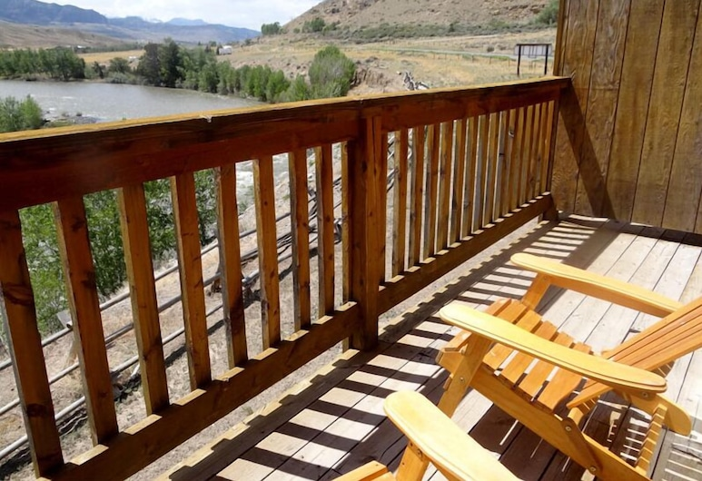 Yellowstone Valley Inn, Wapiti, Izba typu Basic, 2 veľké dvojlôžka, Balkón