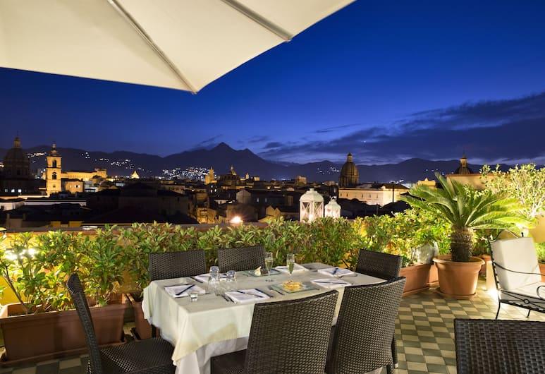 Ambasciatori Hotel, Palerme, Terrasse/Patio