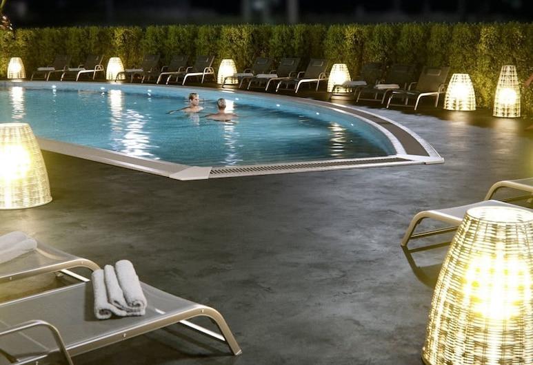 Hotel Santa Cristina, Lloret de Mar, Taras/patio
