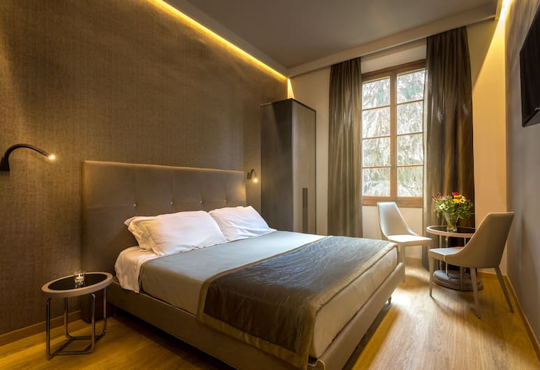 Tourist House Liberty, Florence, Chambre Double Deluxe, vue jardin, Chambre