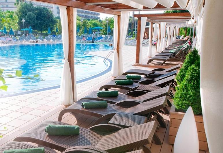 Hotel Florida Park, Santa Susanna, Εξωτερική πισίνα