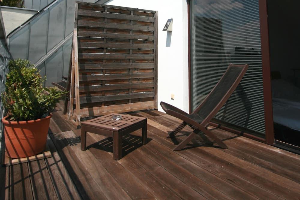 Junior-Suite, Terrasse - Balkon