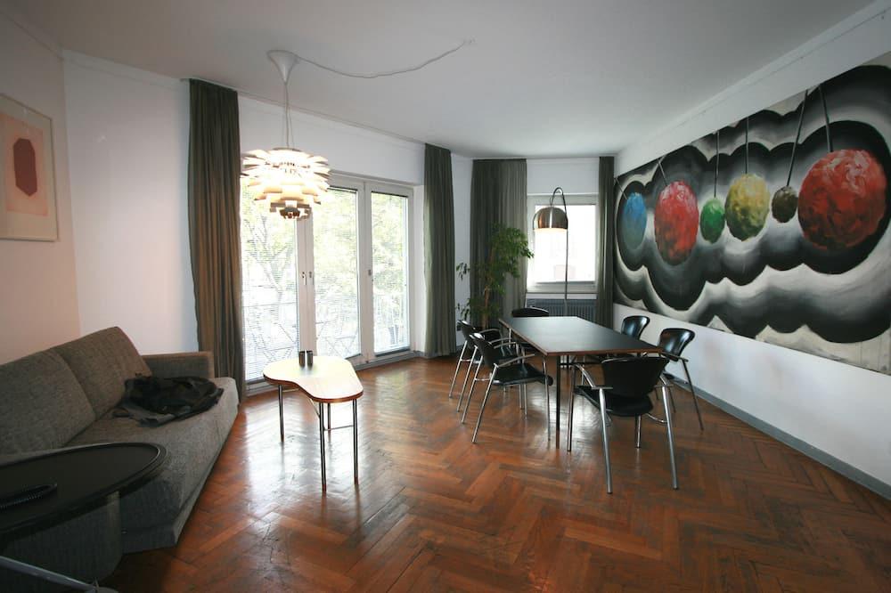 Suite, Balkon - Wohnbereich