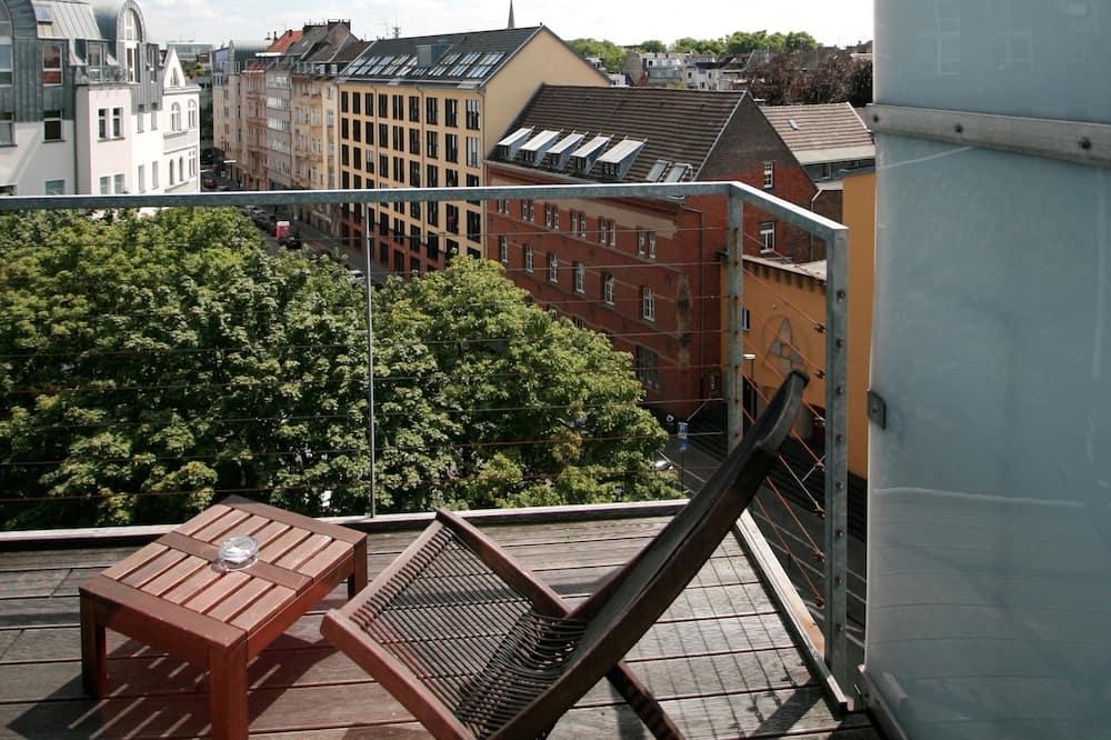 Kippenbergersuite Maisonette mit Dachterrasse - Balkon