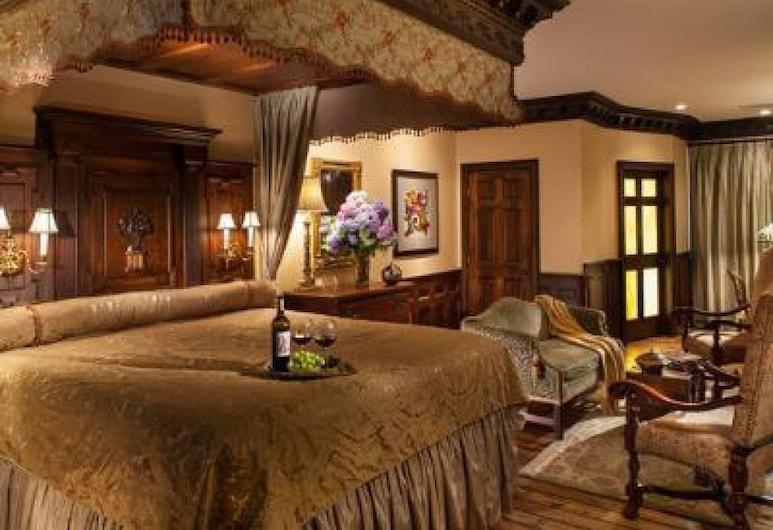 Hydrangea House, Newport, Habitación doble estándar, baño privado (10 Oak Suite), Habitación