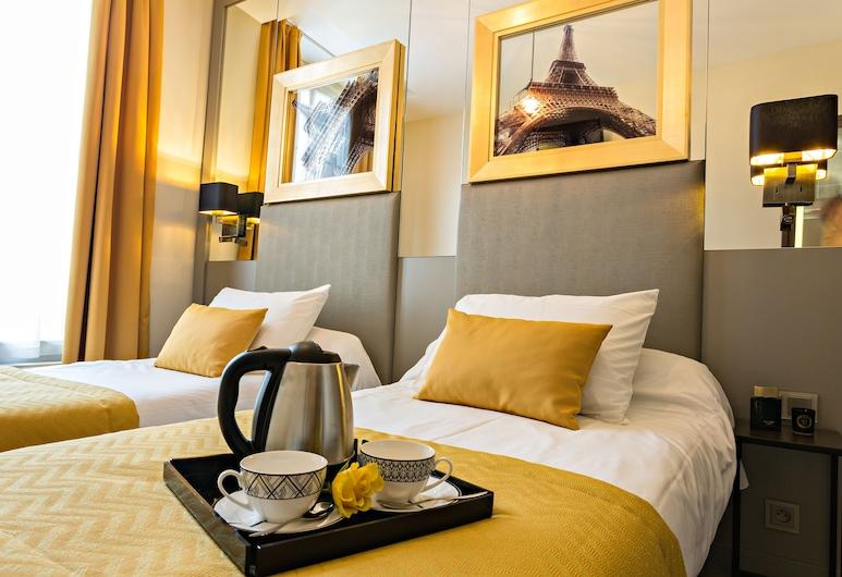 Pratic Hotel, Paris, Superior Twin Room, Guest Room