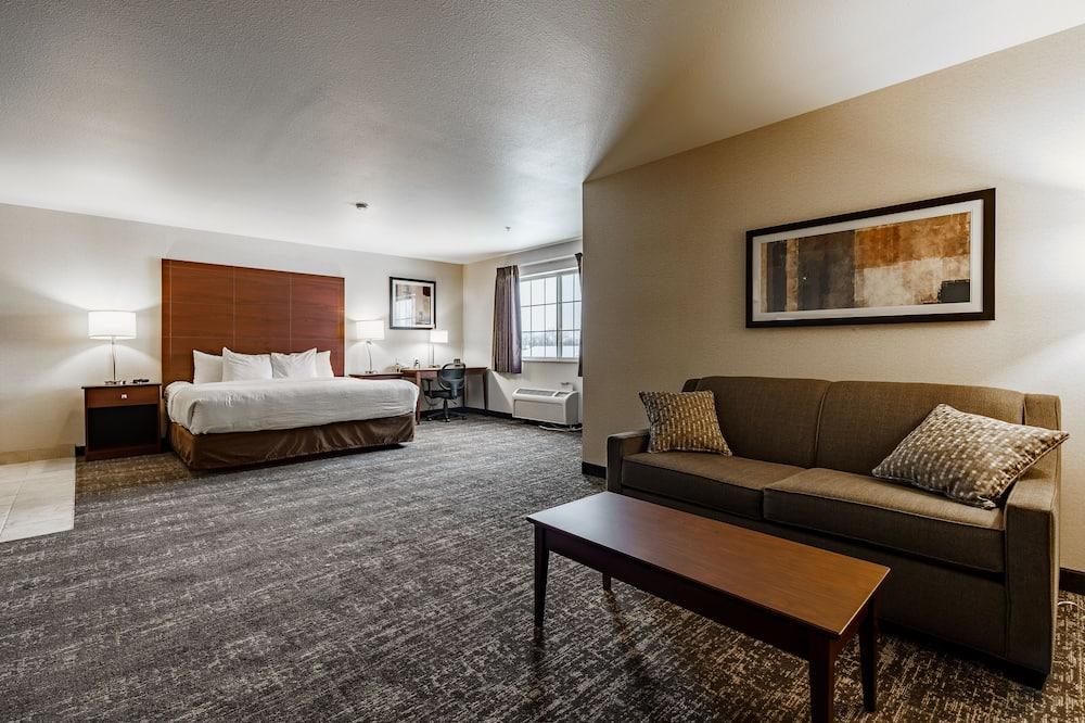 Suite, 1 king size krevet, pristup za osobe s invalidnošću, masažna kada (NonSmoking) - Soba za goste