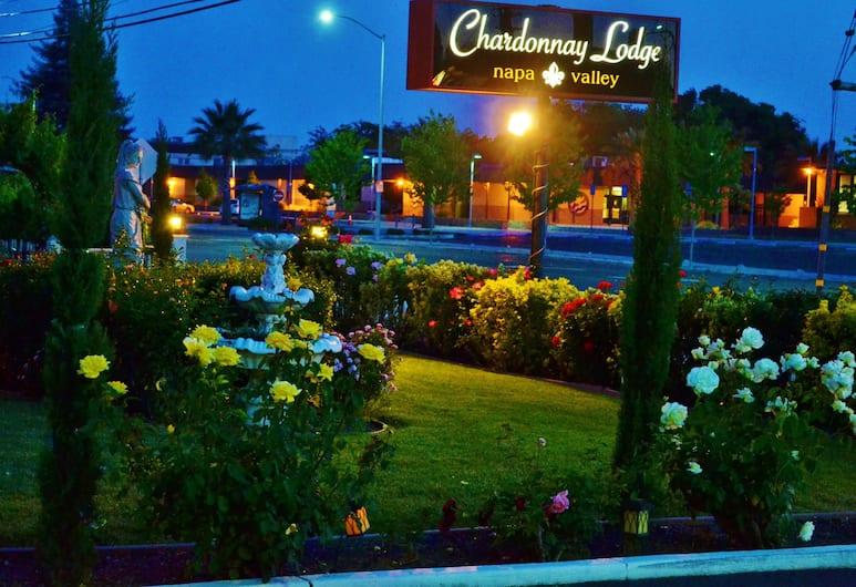 Chardonnay Lodge, Napa, Garten
