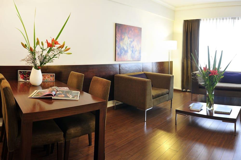套房, 1 張特大雙人床 - 客廳