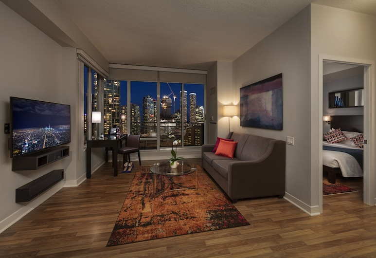 Executive Hotel Cosmopolitan Toronto, Toronto, Suite, 1 cama Queen size con sofá cama, Habitación