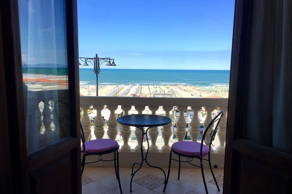Klassieke tweepersoonskamer, Balkon, Uitzicht op zee - Kamer