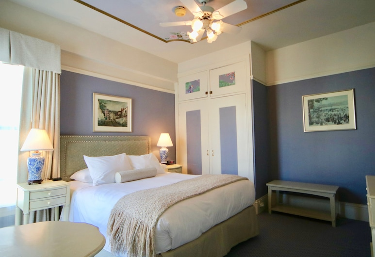 Cornell Hotel de France, San Francisco, Deluxe Room, 1 Queen Bed, Guest Room